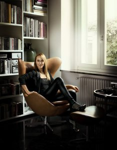 Frida Giannini at home