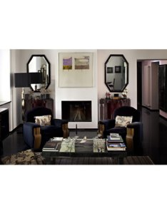 Frida Giannini's Art Deco living room