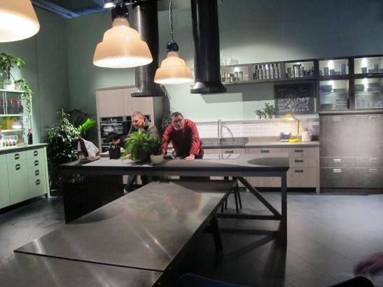 Diesel Kitchen with Scavolini
