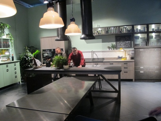 Diesel Kitchen with Scavolini