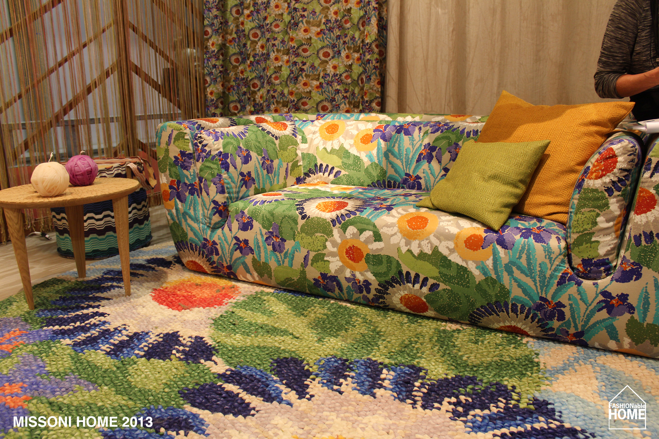 missoni home milano 2013 fashionable home blog. Black Bedroom Furniture Sets. Home Design Ideas