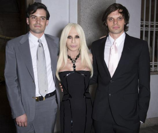 Donatella-Versace-with-the-Haas-Brothers