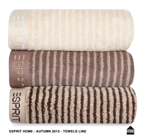 ESPRIT_Towels line_natural_mocca_chocolate Kopie