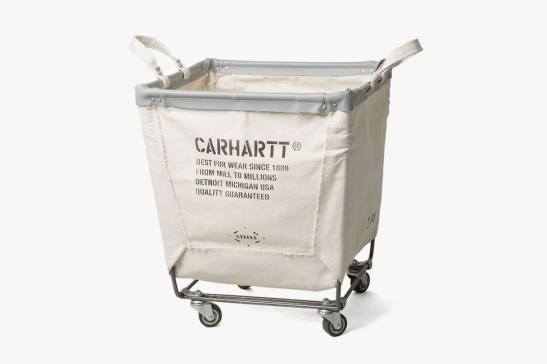 Carhartt x  Canvas Steel Bags laundry trolley