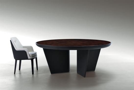 BE Madeley chestnut dining table