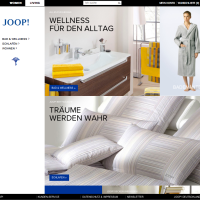 New JOOP! LIVING Webshop @ JOOP.COM
