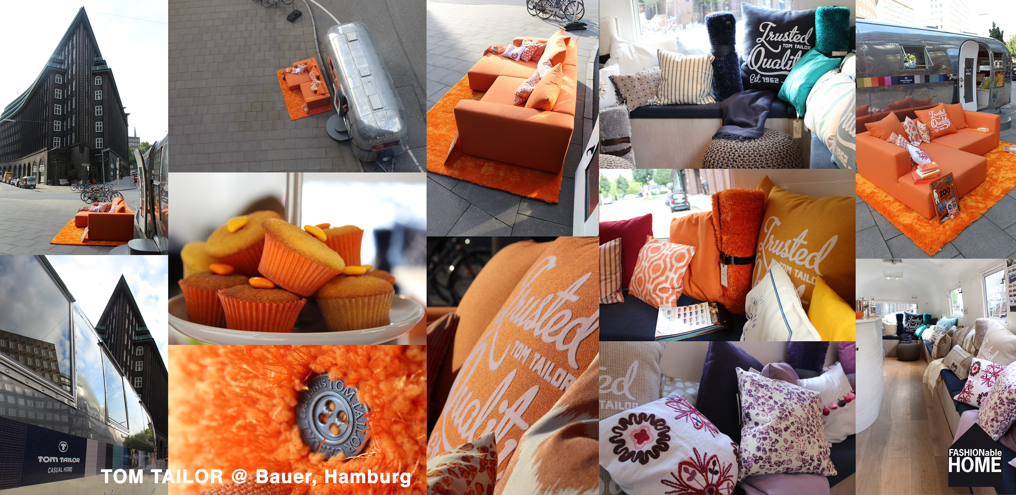 orange tom tailor sofa airstream on tour fashionable. Black Bedroom Furniture Sets. Home Design Ideas