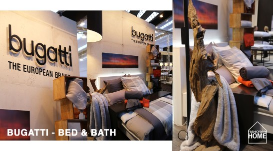 New Bugatti Bed Linen Collection @ HTX 2014