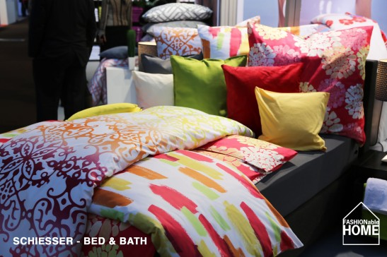 New: Schiesser does Bed + Bath, too - HTX 2014.