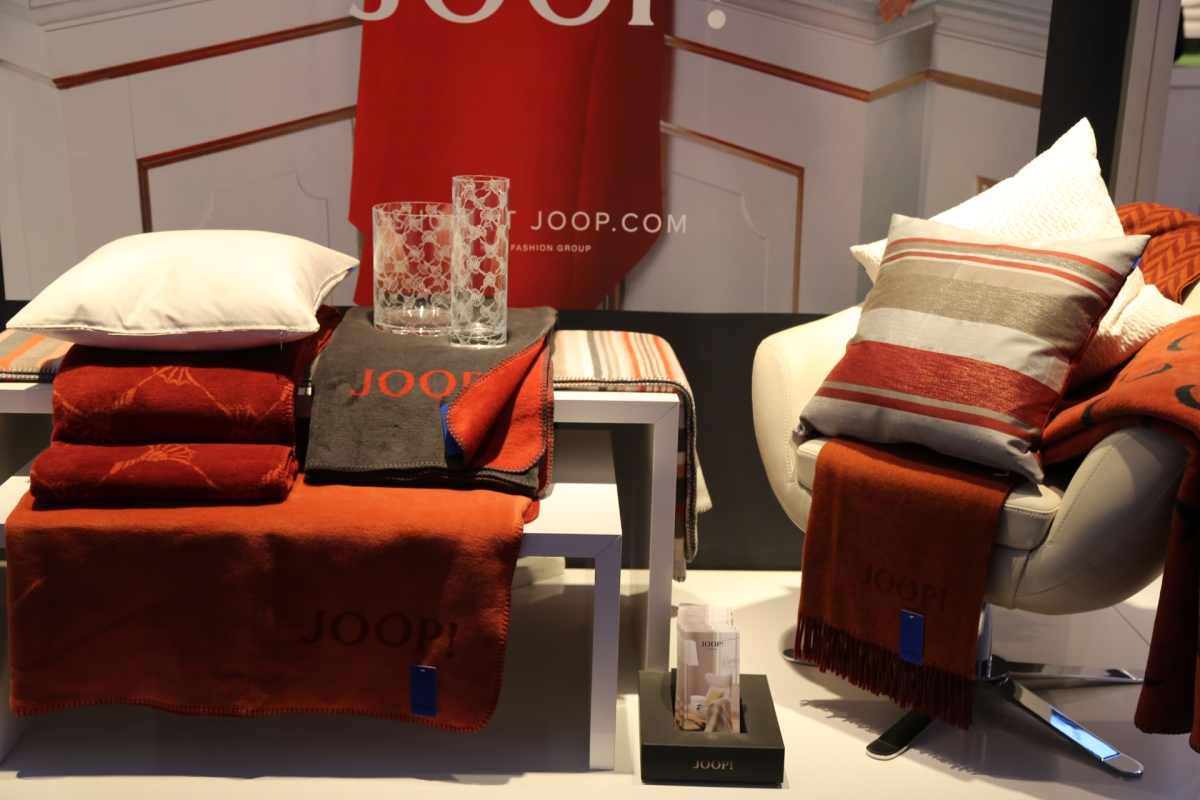 JOOP! LIVING @ HTX 2014 - well-structured