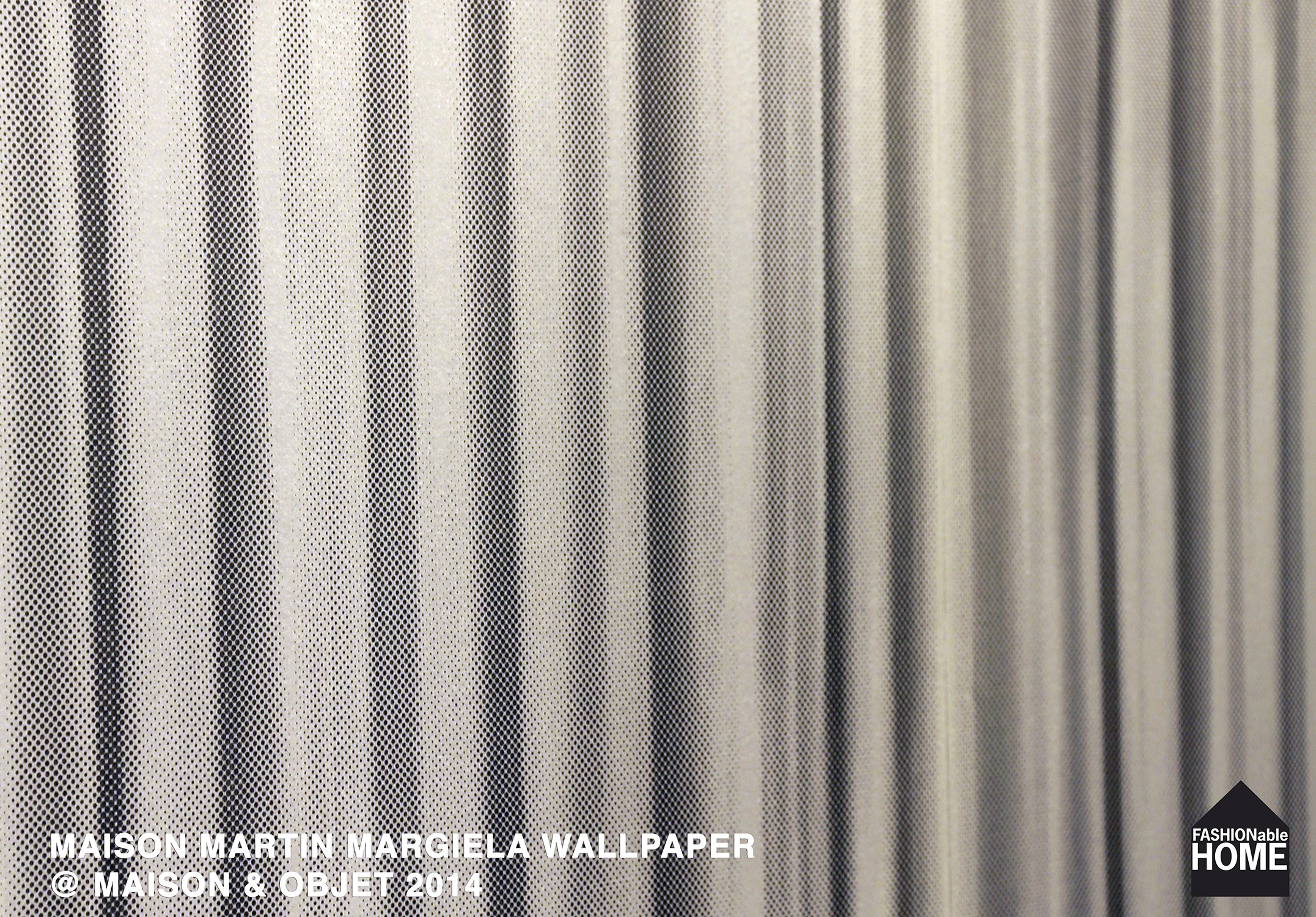 Maison Martin Margiela Wallpapers Launched At Maison Objet