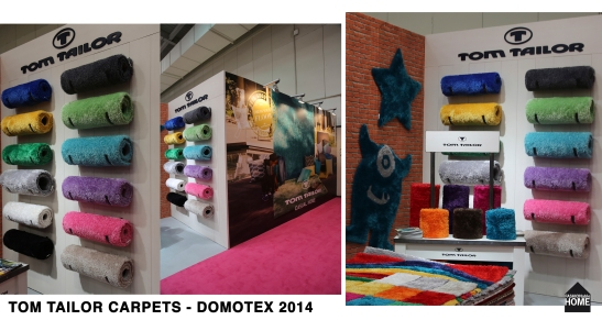 TOM TAILOR Carpets @ DOMOTEX 2014