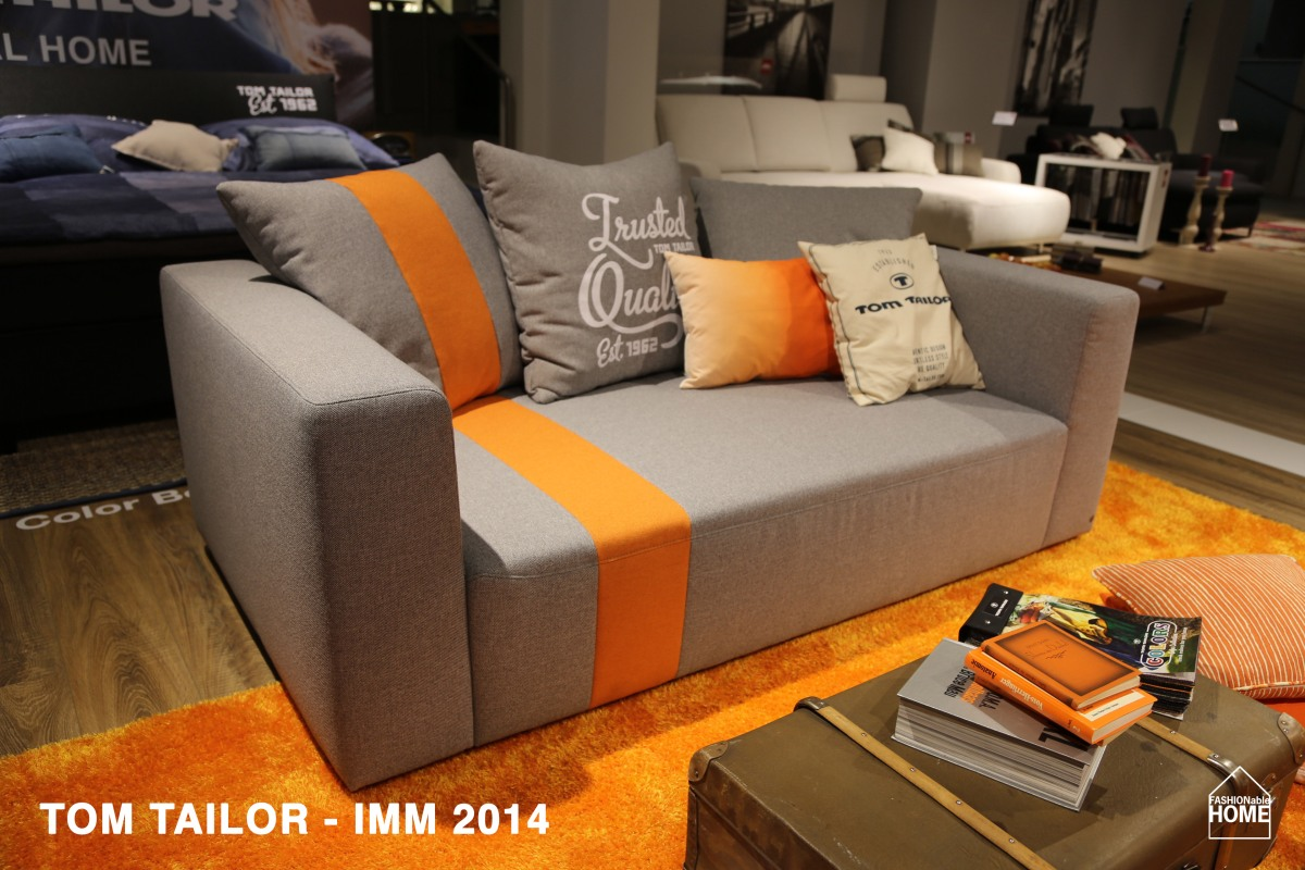 New TOM TAILOR Sofas and Beds @ IMM 2014