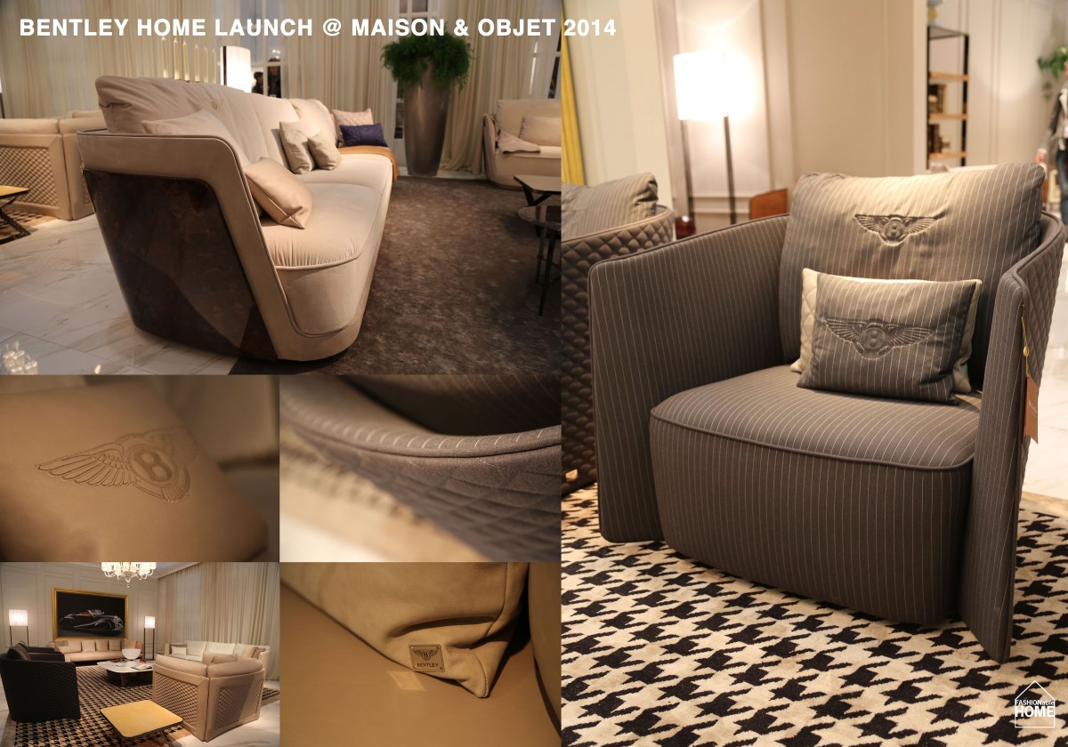 BENTLEY Home @ Maison & Objet 2014
