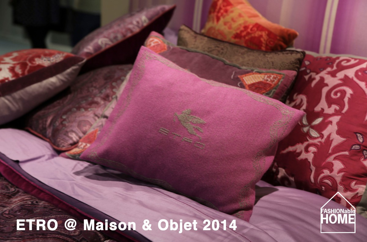 ETRO @ Maison & Objet 2014