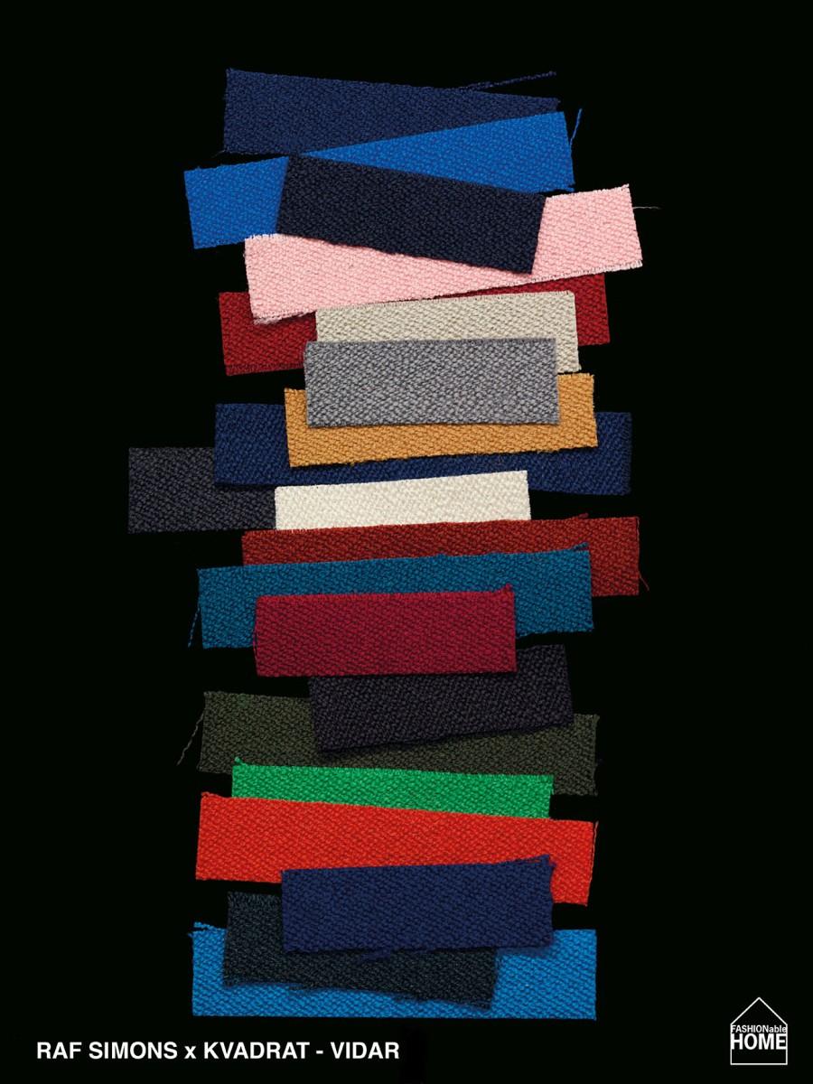 RAF SIMONS x Kvadrat fabric collection