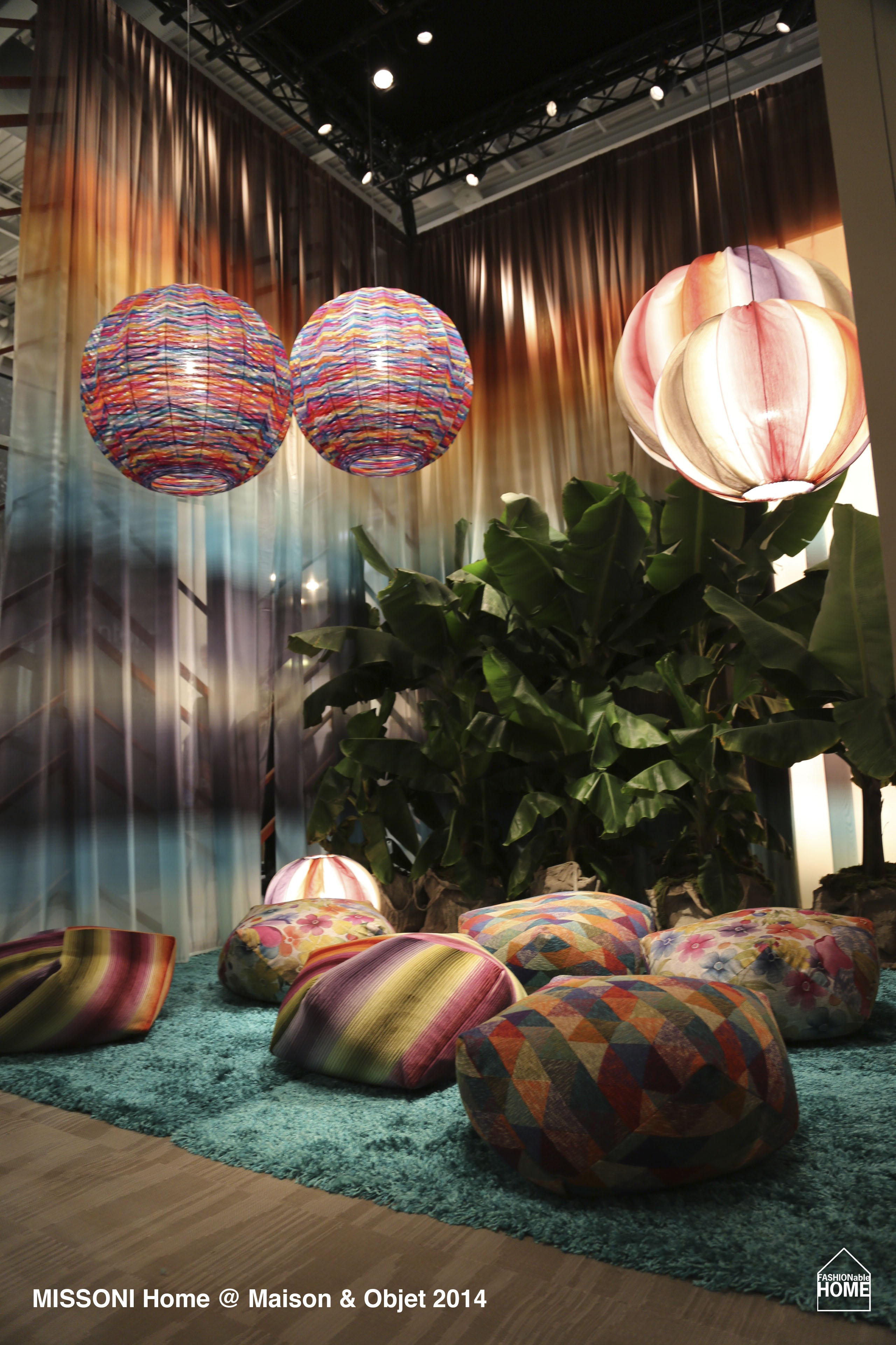 missoni home maison objet 2014 fashionable home blog. Black Bedroom Furniture Sets. Home Design Ideas