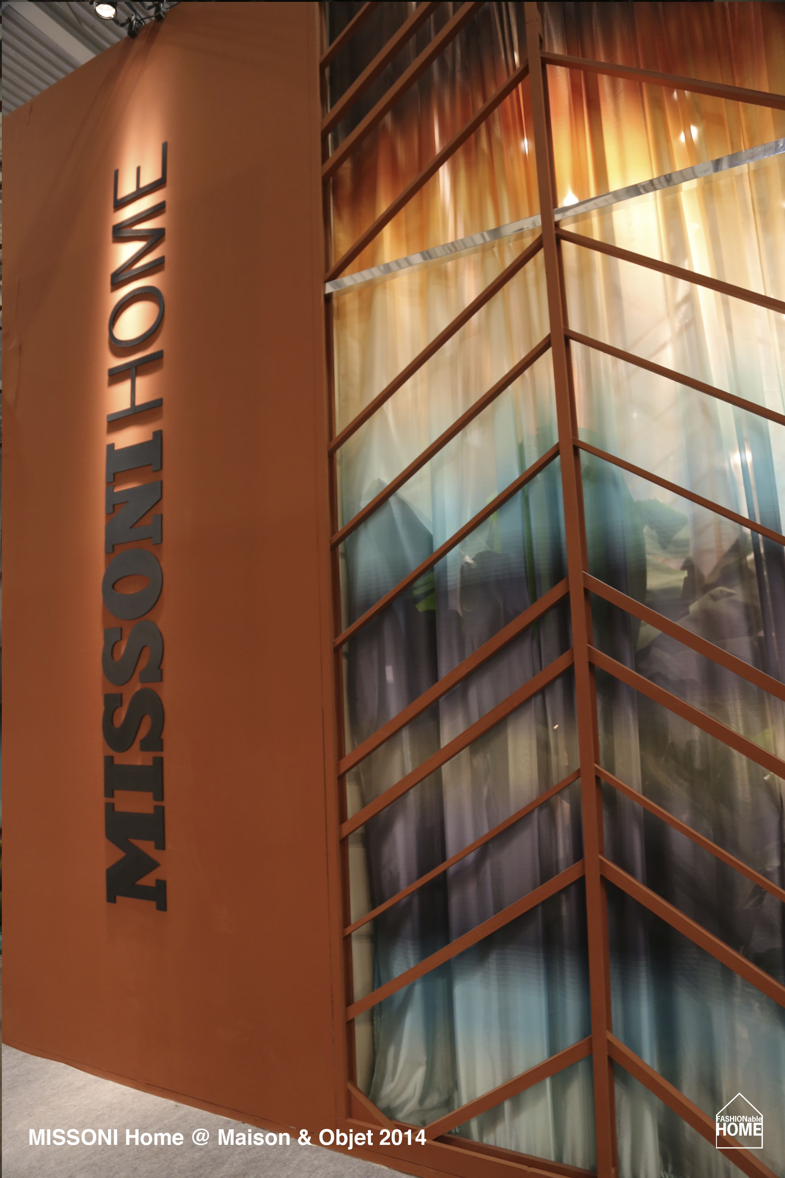 MISSONI Home @ Maison & Objet 2014 | Fashionable Home Blog
