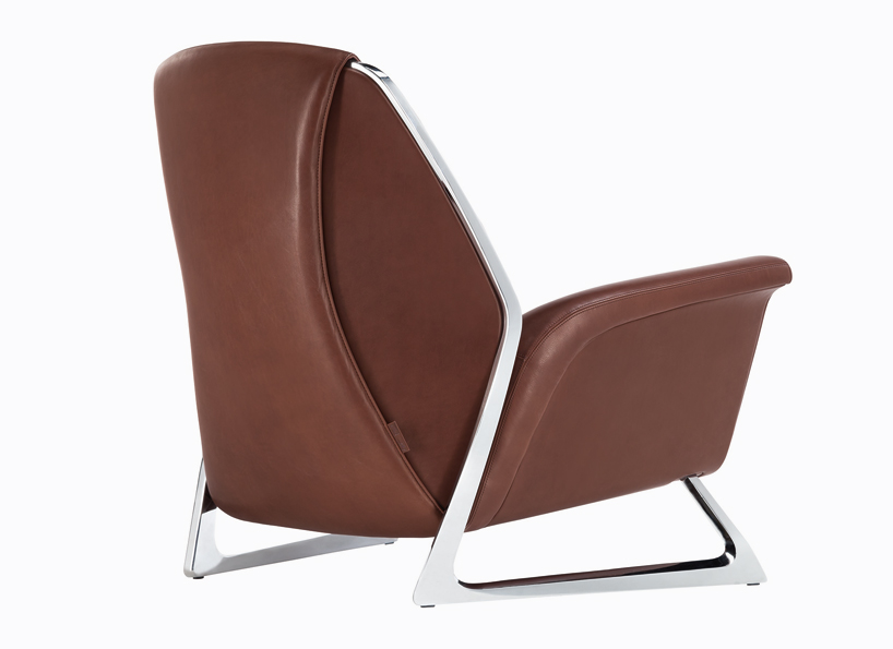 small leather chair. Luft-armchair-by-Audi-Concept-Design-for-Poltrona- Small Leather Chair