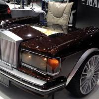 (Fake?) ROLLS-ROYCE desk by Mansory