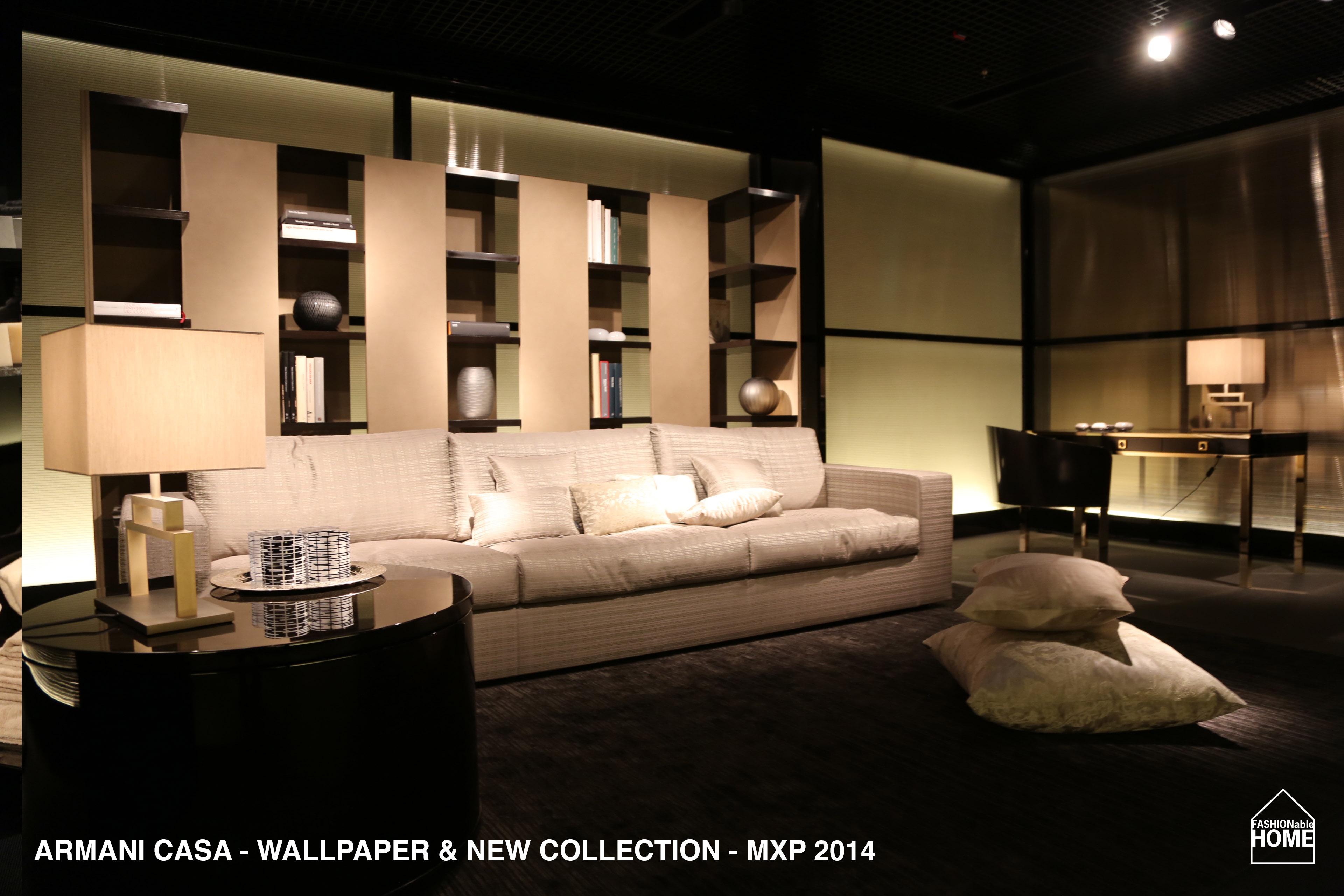 new armani casa wallpapers u0026 collection items milano 2014