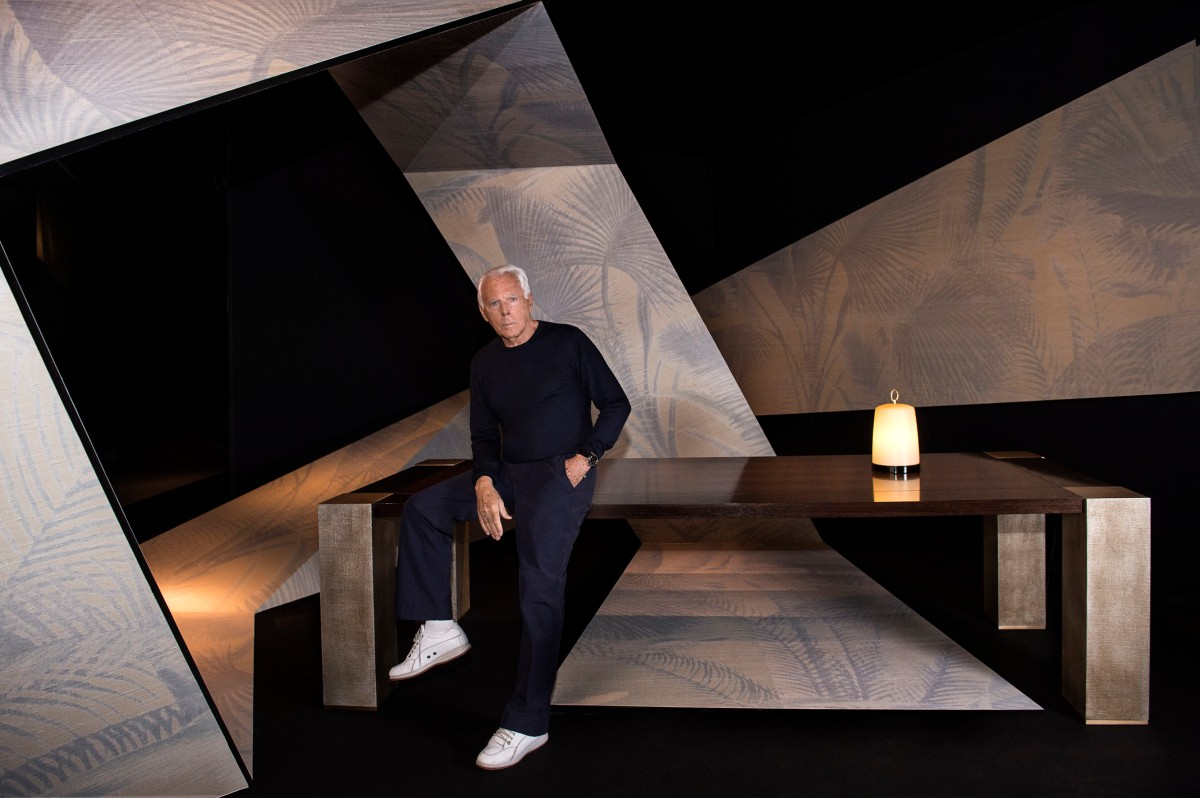 ARMANI CASA introduces new Wallpaper collection and 2014 items @ Milano 2014