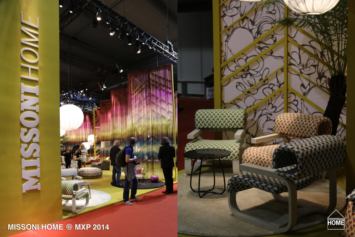 missoni home salone del mobile milano 2014 fashionable home blog. Black Bedroom Furniture Sets. Home Design Ideas