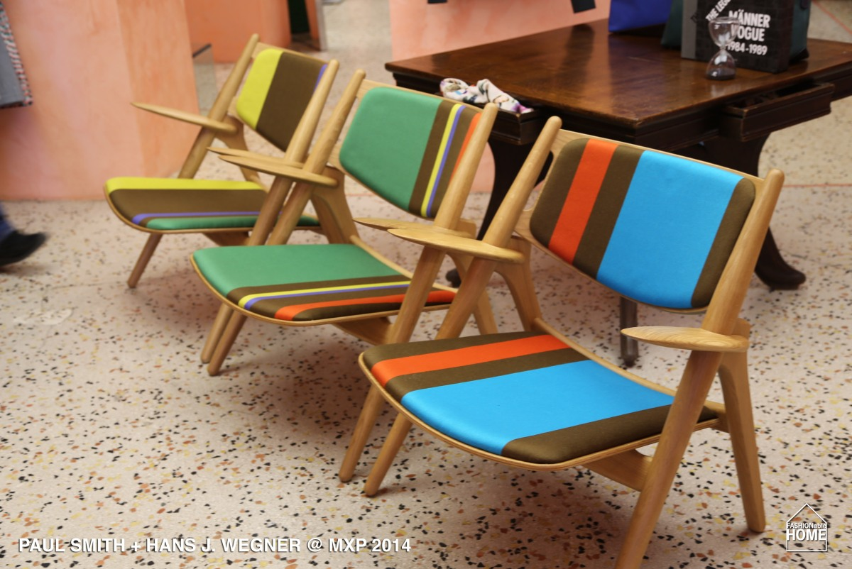 PAUL SMITH + Hans J. Wegner @ Milano 2014