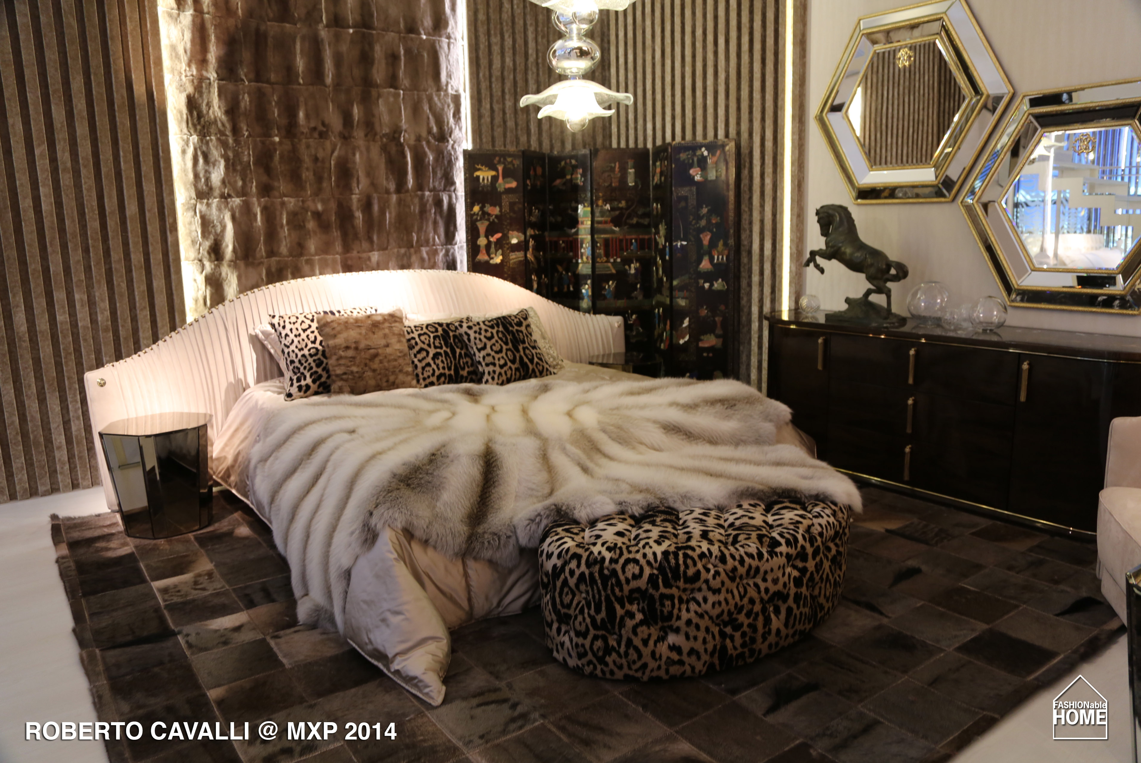 Roberto Cavalli Home Milano 2014 Fashionable Home Blog