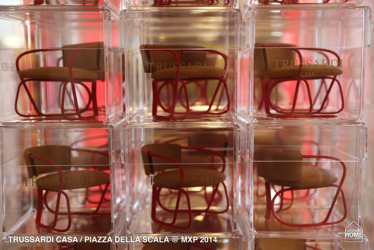 TRUSSARDI CASA - Presentation @ Piazza della Scala - Milano 2014