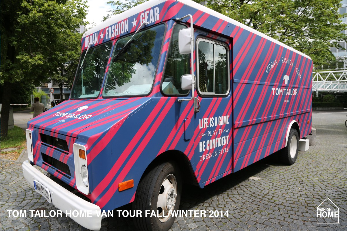 REVISITED: TOM TAILOR VAN TOUR - FALL/WINTER 2014