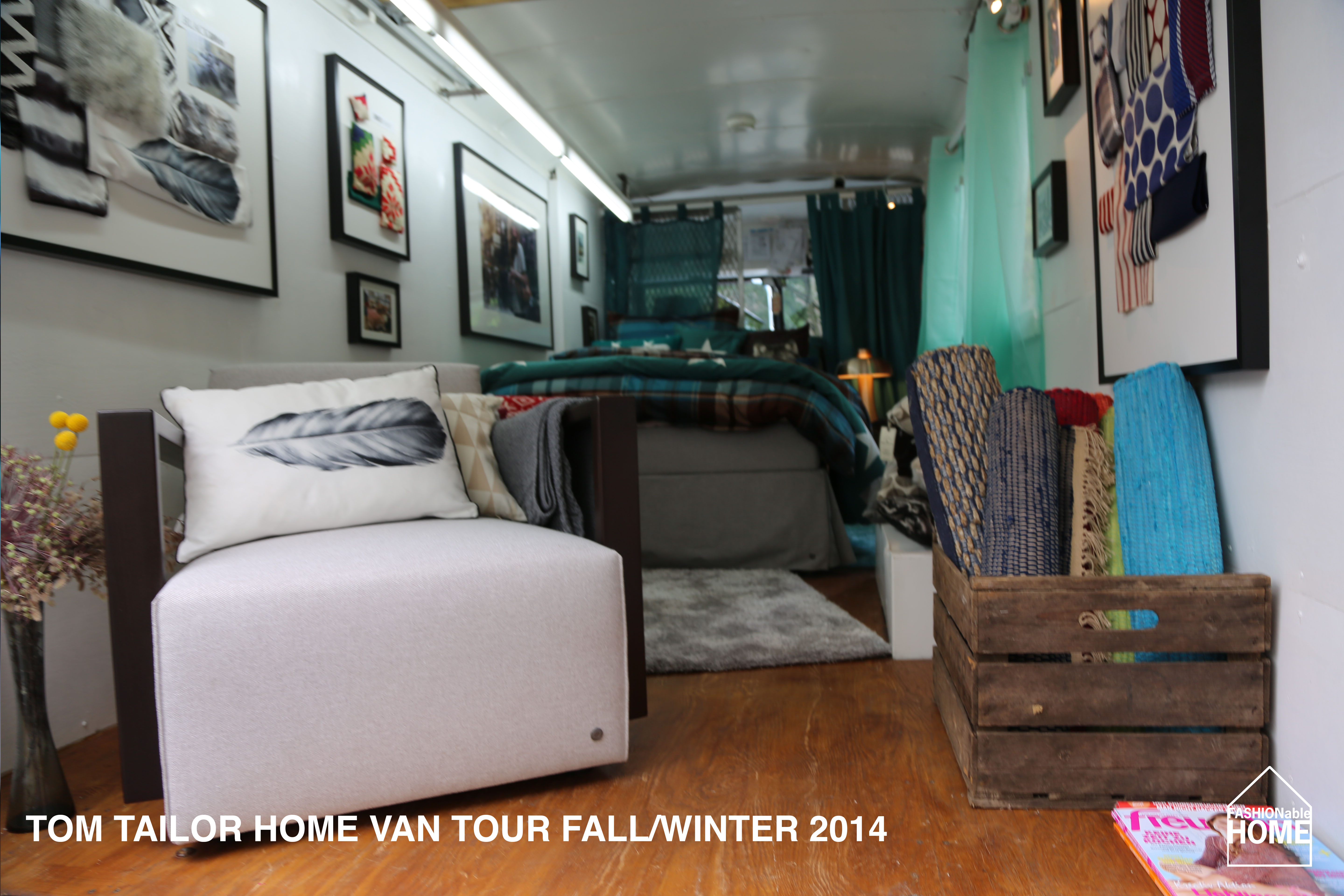 revisited tom tailor van tour fall winter 2014 fashionable home blog. Black Bedroom Furniture Sets. Home Design Ideas