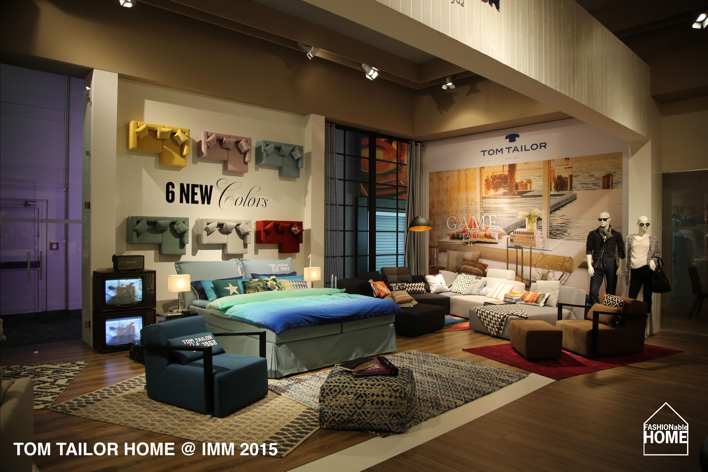 tom tailor home imm 2015 new colours beds carpets. Black Bedroom Furniture Sets. Home Design Ideas