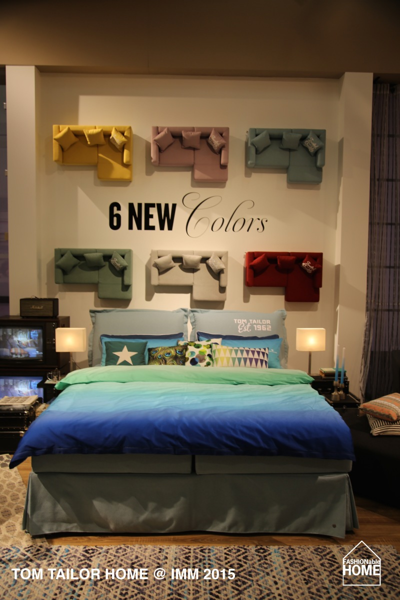 TOM TAILOR HOME @ IMM 2015 - New Colours, Beds & Carpets